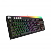 Tastatura gaming mecanica Havit GAMENOTE KB473L, iluminare LED RGB, 112 taste