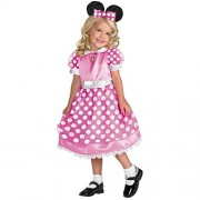 Clubhouse Minnie Mouse Pink Costume - Toddler Medium