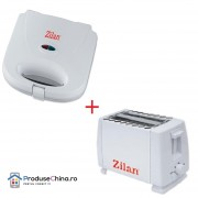 Set toaster + sandwich maker - Zilan