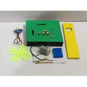 Project Hub™ -Wind Mill with Electric Switch School Science Project Working Model, DIY Kit