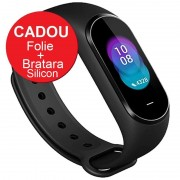 Smartband Xiaomi Mi Band 4, LCD TouchScreen, Waterproof, Ritm Cardiac, Fitness Tracker, Bluetooth 5.0, 135 mAh