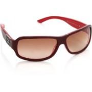 Diesel Rectangular Sunglasses(Red)