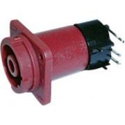 Adaptor adecvat pentru conector CLIFFCON® cu protectie la contact, 4 pini, pentru montare pe PCB 90˚