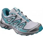 Salomon Wings Flyte 2 - scarpe trail running - donna - Light Blue/Grey