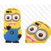 Аpple iPhone 7 Plus / iPhone 8 Plus (силиконов калъф) 'Minion style'