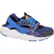 Nike Huarache Run Print Gs Blue
