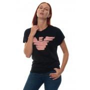 Giorgio Armani T-shirt Nero Cotone Donna