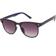 Arzonai Clubaster Wayfarer Blue-Black UV Protection Sunglasses For Men & Women [MA-319-S3 ]