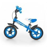Rowerek biegowy Dragon z hamulcem niebieski - DARMOWA DOSTAWA!