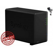 Synology NVR216 4ch Network Video Recorder NVR216-4