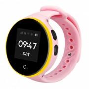 ZGPAX S669 Kid's GPS reloj inteligente SOS Tracker - Rosa