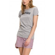 Tommy Hilfiger T-shirt grigia con stampa T-shirt di Tommy Hilfiger - S