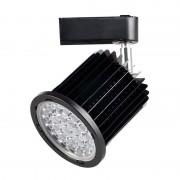 MasterLed - Foco LED carril orientável 24W preto - MasterLed