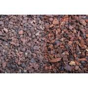 Baunox Ziersplitt / Edelsplitt - Teneriffa - 10-25 mm - 250kg (BigBag) (Roter Minenstein)