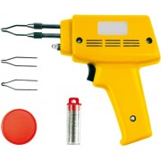 Trusa Pistol de Lipit + Accesorii 100W Vorel 79351