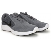 Nike REVOLUTION 3 Running Shoes For Men(Grey)