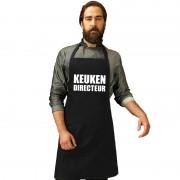 Shoppartners Keuken directeur keukenschort zwart heren - Action products