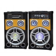 Set 2 boxe cu amplificare si MP3 Intex DJ801 BT