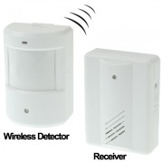 Electro Guard Watch Système de détection à distance IR / Sonnette sans fil (Blanc)