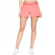 ASICS Legends 35quot Woven Shorts Pixel Pink Heather