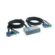 Switch KVM D-Link DKVM-2KU 2PORT+USB DESKTOP, cabluri incluse