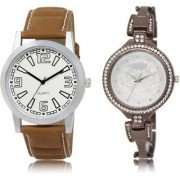 The Shopoholic White Silver Combo New Collection White And Silver Dial Analog Watch For Boys And Girls Formal Watches For Men