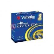Medii de stocare verbatim DVD+RW 4GB 4x JC 5Pack (43229-28)
