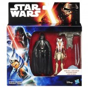 B3959 Figurine Hasbro Star Wars Rebels Space Mission Darth Vader Ahsoka Tano