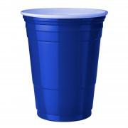 StudyShop Blue Cups Blå Plastmuggar (16 Oz.)