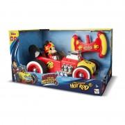 Masina RC Mickey Roadster Racers, telecomanda, 3 ani+