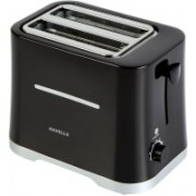 Havells Crisp 700 Pop Up Toaster(Black)