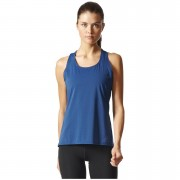 adidas Women's Climachill Tank Top - Mystery Blue - S - Mystery Blue