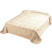 Pătură de pat double Belpla Ster 516 Natural
