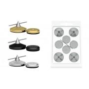 Spike Audio Selection (GoldKabel) Cone & Disc Small 4x Argintiu