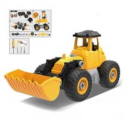 Cyeah Take Apart Bulldozer Toy With Tools for Kids Tractor Construction Truck Assemble and Disassemble Vehicle Model Building STEM Learning