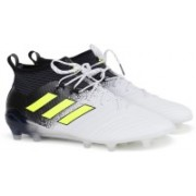 Adidas ACE 17.1 FG Football Shoes For Men(White)