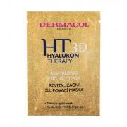 Dermacol 3D Hyaluron Therapy Revitalising Peel-Off maschera per il viso per tutti i tipi di pelle 15 ml