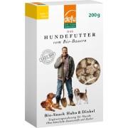 Gustari Bio pentru caini, cu pui si cereale, 200g, Defu