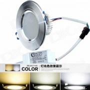 """""""Techo Regulable Luz CXHEXIN H6 + 6 3 """"""""12W 720lm 24 SMD LED (85 ~ 265V)"""""""