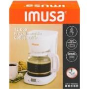 IMUSA 5U9WGTBGPWHU Personal Coffee Maker(White)