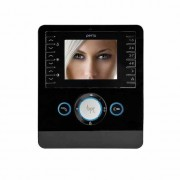 """BPT Videocitofono con display LCD a colori 3,5"""" audio vivavoce Perla PEV NF 62100190"""