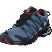 Salomon Xa Pro 3d V8 Gtx Flint/sargasso Sea/rd Dahlia, Skor, Sneakers och Träningsskor, Walkingskor, Blå, Herr, 44