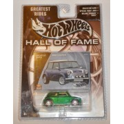 Mattel Hot Wheels 2002 Hall Of Fame Greatest Rides 1:64 Scale 35th Anniversary Green Mini Cooper Die Cast Car