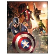 Avengers fleece deken plaid