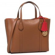 Дамска чанта TORY BURCH - Perry Small Triple-Compartment Tote 56249 Light Umber 905
