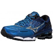 Mizuno Men's Wave Creation 19 Running-Shoes, Directoire Blue/Silver/Blueprint, 11 D US