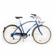 Bicicleta Pegas Popular 7 viteze-Aluminiu Albastru Calator