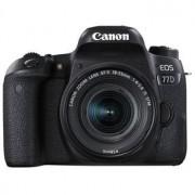 Canon EOS 77D hus + EF-S 18-55/4-5,6 IS STM