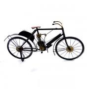 Macheta din fier in forma de bicicleta cu suspensii si pompa