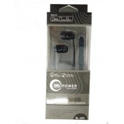 Smart head Geeky series - Universal supported 3.5mm Head phone with MIC EZ033(Black)